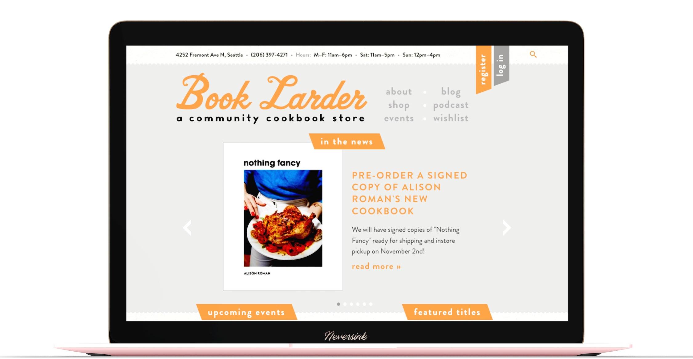 Book Larder Macbook