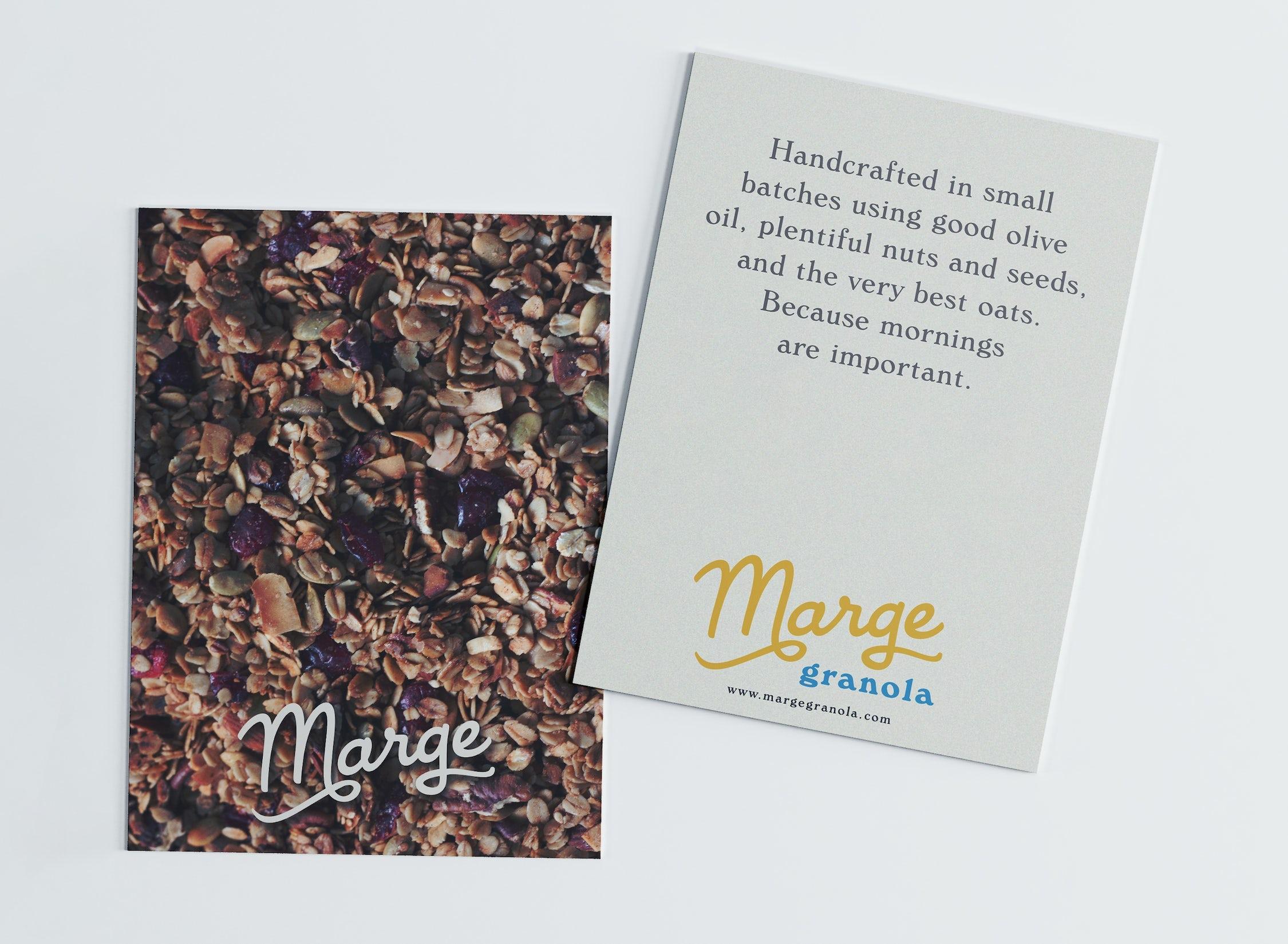 Marge postcard mockups 2021