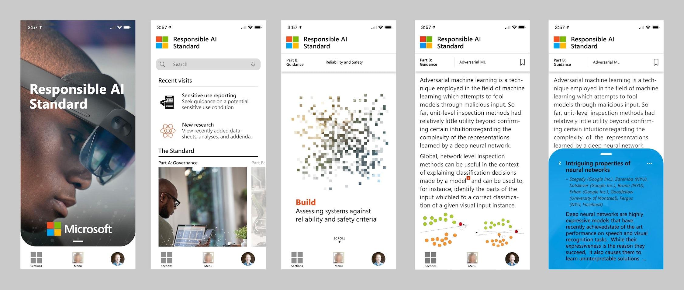 Microsoft Responsible AI app design